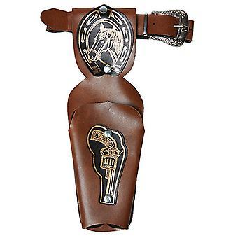 Cinturón de potro marrón de Skai niños