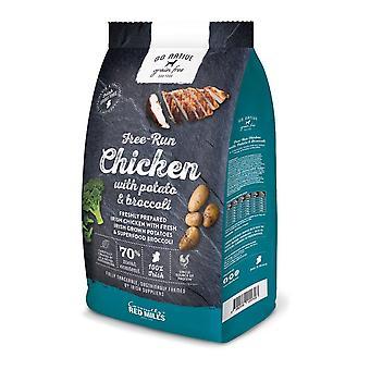Red Mills Go Native Chicken/Potato/Broccoli No Grain 800g Dry Dog Food