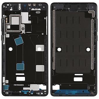 Gehäuse Rahmen Mittelrahmen Deckel kompatibel für Xiaomi Mi MIX 2 Schwarz