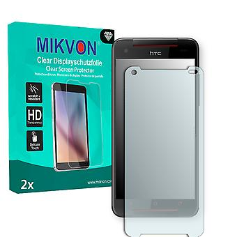 HTC Butterfly S Screen Protector - Mikvon Clear (Retail-Paket mit Zubehör)