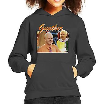 Gunther Tribute Montage Kid's Hooded Sweatshirt