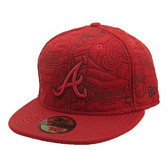 New Era Atlanta Braves Fitted Hat Mens Style : Hat410