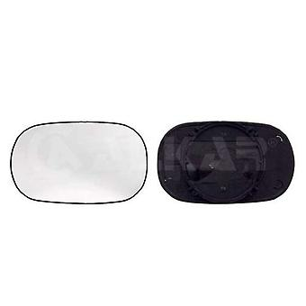 Left / Right Mirror Glass (not heated) & Holder for FORD KA 1996-2008