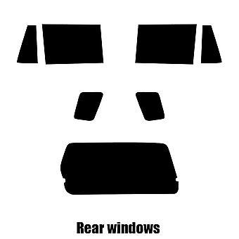 Pre cut window tint - Suzuki Grand Vitara XL-7 - 2002 to 2006 - Rear windows