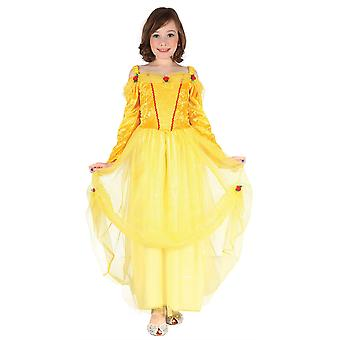 Bnov Princess Dress  Costume Yellow