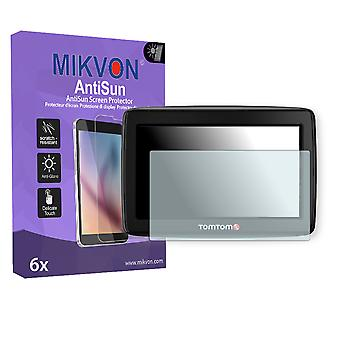 TomTom Start 25 M Europe Traffic Screen Protector - Mikvon AntiSun (Retail Package with accessories)