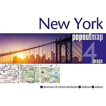 New York PopOut Map by PopOut Maps - 9781910218594 Book