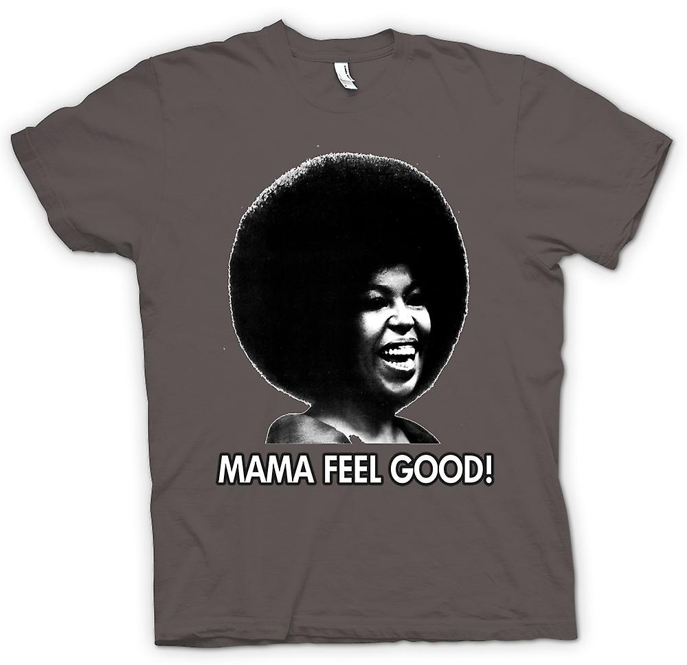 Femmes T-shirt - Mama Feel Good - Soul - Afro