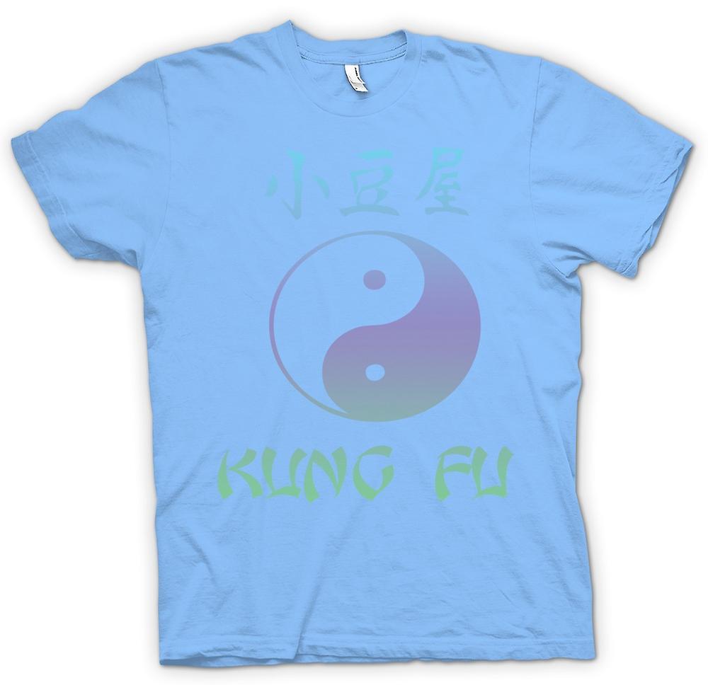 Hommes T-shirt - Kung Fu - Ying Yang