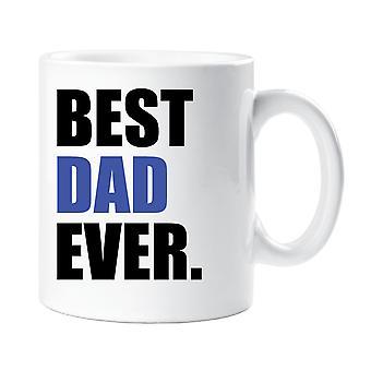 Best Dad Ever Mug Blue