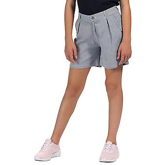 Regatta Girls Damita Coolweave Cotton Summer Shorts