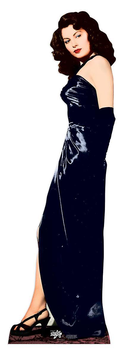 Recorte de cartón de tamaño natural de Ava Gardner / pie