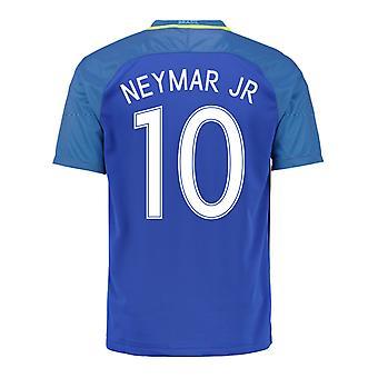 2016-17 Brazil Away Shirt (Neymar JR 10)