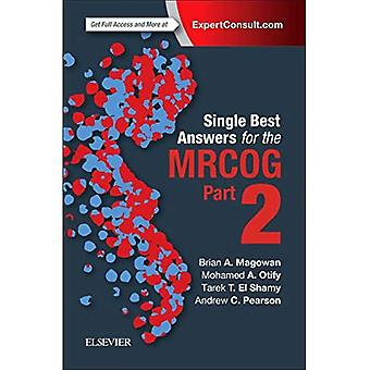 Single Best Answers for MRCOG Part 2, 1e