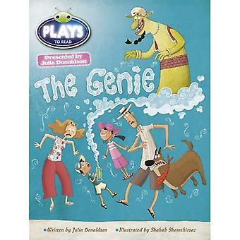 Julia Donaldson Plays the Genie (white) (BUG CLUB)