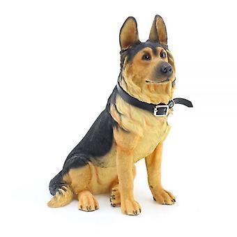 27Cm Duitse herder vergadering Ornament Home Decoratie hond beeldje