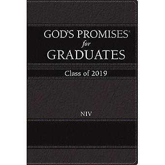 Promesas de Dios NIV para graduados: clase de 2019 [negro]