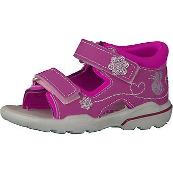 Ricosta Pepino meninas Kittie sandálias Pink Candy