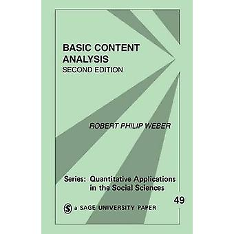 Basic Content Analysis by Weber & Robert Philip