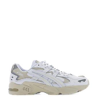 Asics White Leather Sneakers