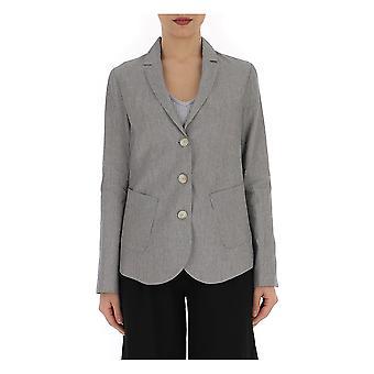 Semi-couture Grey Linen Blazer