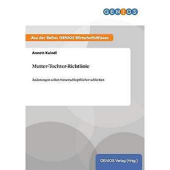 MutterTochterRichtlinie von Kaindl & Annett