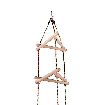 Swingan - 5 Steps Triangle Climbing Rope Ladder - Fully Assembled