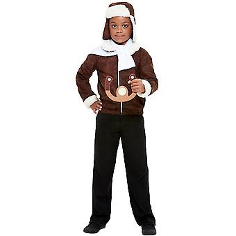 WW1 pilot child costume army pilot Carnival costume