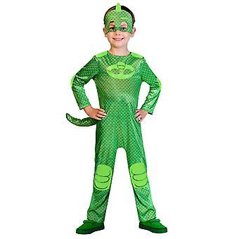 PJMASKS pyjama roods kinderen kostuum Gekko gecko Heroes in pyjama Greg