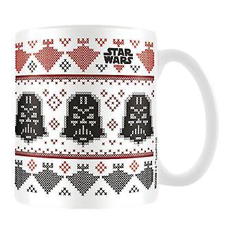 Star Wars Darth Vader Christmas Mug - Gaming Merchandise