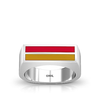 Ottawa Senators Enamel Ring In Red And Gold