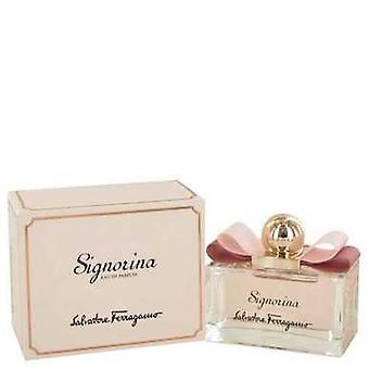 Signorina De Salvatore Ferragamo Eau De Parfum Spray 3.4 Oz (femmes) V728-491304