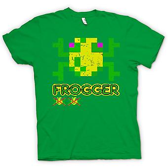 Womens T-shirt - Frogger - Classic Arcade Game 0s Gamer