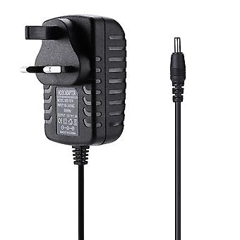 REYTID Replacement Charger for Amazon Echo Spot and Echo Dot  - 1.8m - Alexa Speaker Mains Plug Power Lead - Black