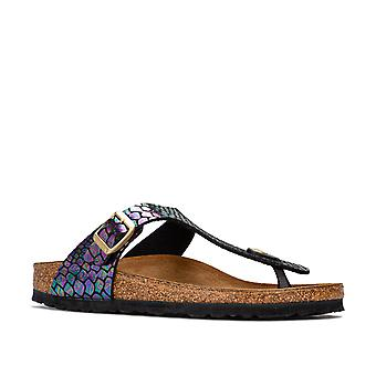 Girls Birkenstock Children Girls Gizeh BF Sandals in Multi colour - UK 2.5