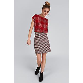 Louche Sibel Check Skirt