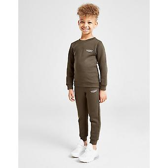 New McKenzie Kids' Essential Crew Suit Khaki
