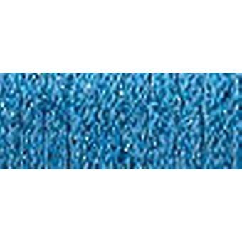 Kreinik sehr feine Metallic Braid #4 11 Meter 12 Yards blau Vf 006