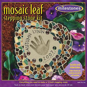 Mozaïek blad Stepping Stone Kit 90111455