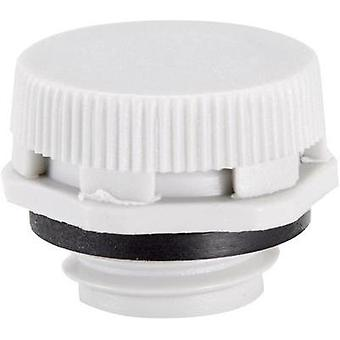 Pressure compensation piece M12 Polyamide Light grey (RAL 7035) LappKabel SKINDICHT VENT 12x1,5 LGY 1 pc(s)