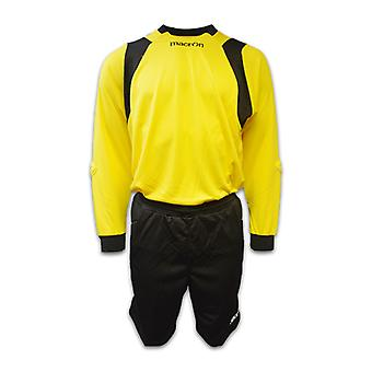 Macron Goalkeeper Kit (Yellow)