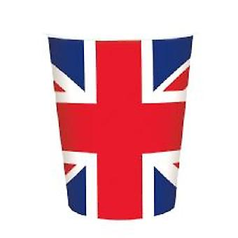 Union Jack Paper Cup ( 15 per pack)