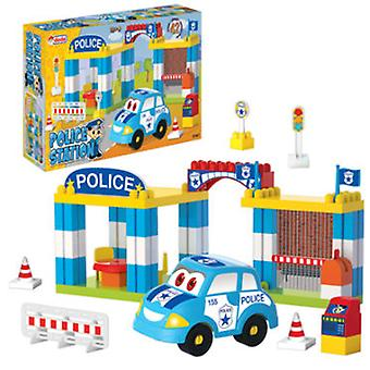 Dede Police Station 42 Parts (Toys , Vehicles And Tracks , Parking And Circuits)