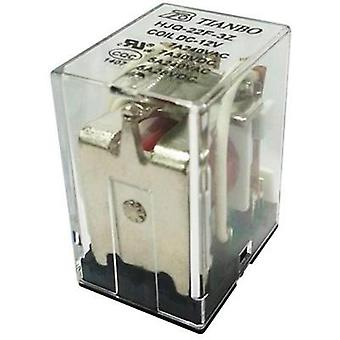 Plug-in relay 24 Vdc 7 A 3 change-overs Tianbo Electronics HJQ-22F-3Z -24VDC 1 pc(s)