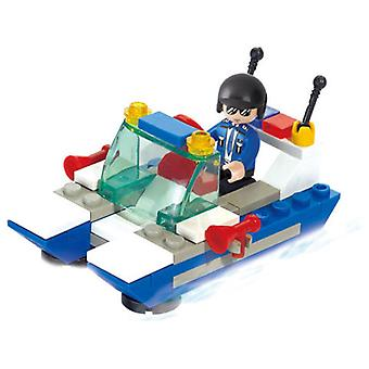Sluban Police Patrolman (Kids , Toys , Construction , Vehicles And Ships)