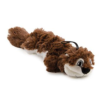 Rope Filled Plush Squirrel Small 28cm (Pack of 6)