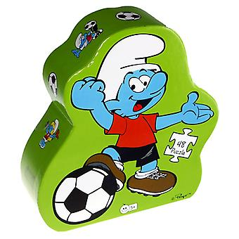 Barbo Toys Smurfs Football Puzzle 48b