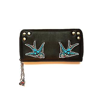 Banned Swallows Tattoo Wallet