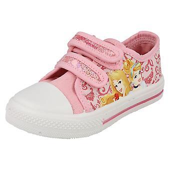 Girls Character Disney Princess Castile Canvas Shoes