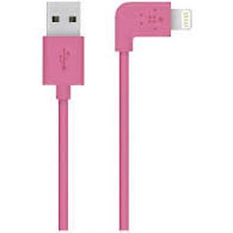 Belkin Lightning Cable Right Angle 1.2M Rosa (DIY , Electricity , Cables)